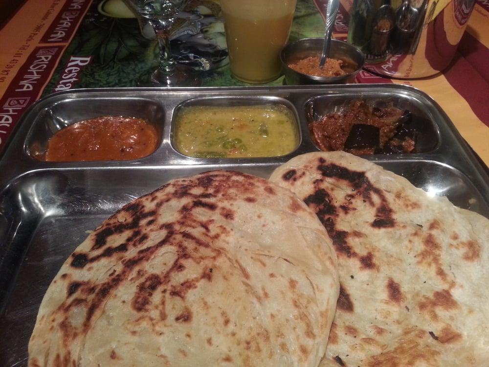 Plateau de curry yelp for Krishna bhavan paris