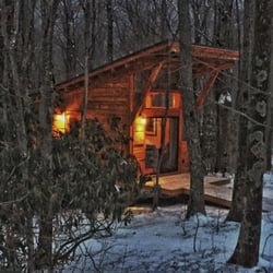 Medium image of photo of blue bear mountain camp   todd nc united states