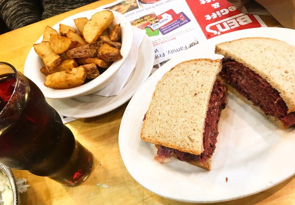 Ben's Kosher Delicatessen Restaurant & Caterers: 140 Wheatley Plz, Greenvale, NY