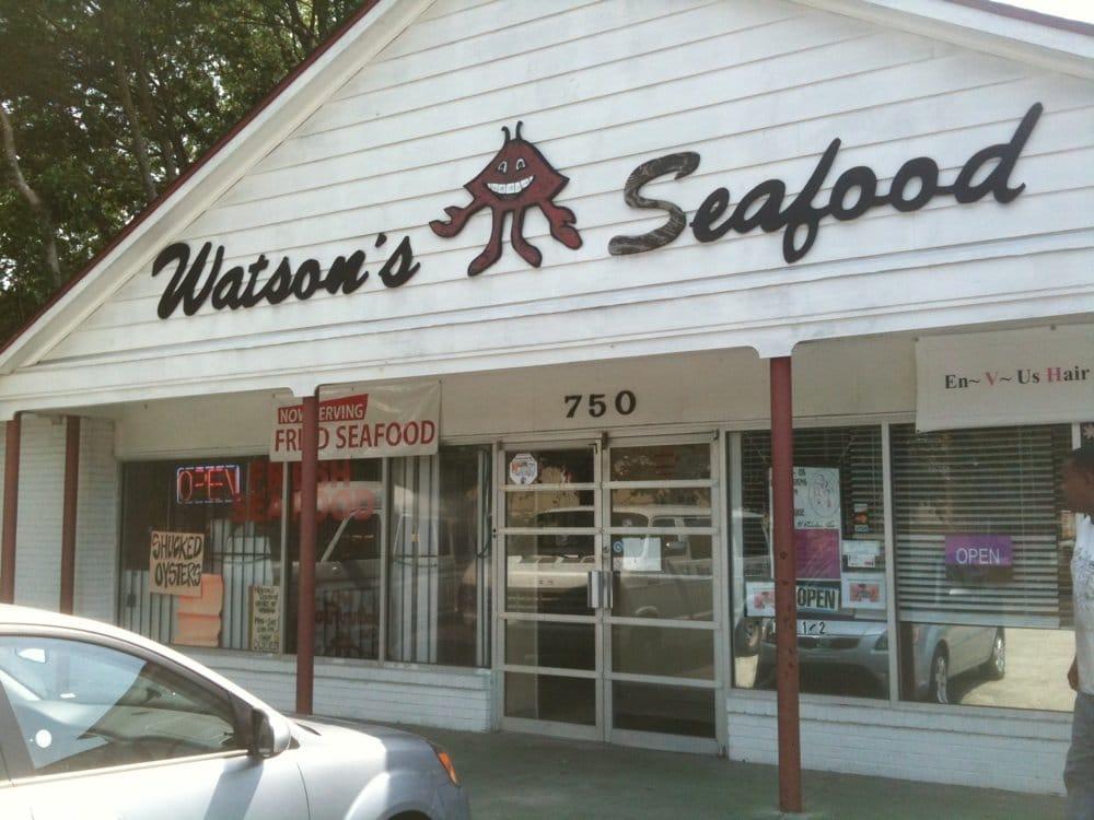 Watson s seafood seafood markets 750 pennsylvania ave for Fish market savannah ga