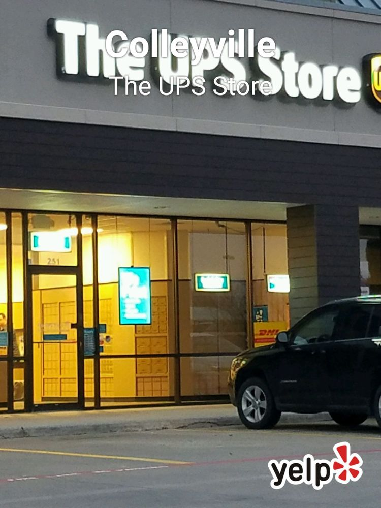 The UPS Store: 4843 Colleyville Blvd, Colleyville, TX