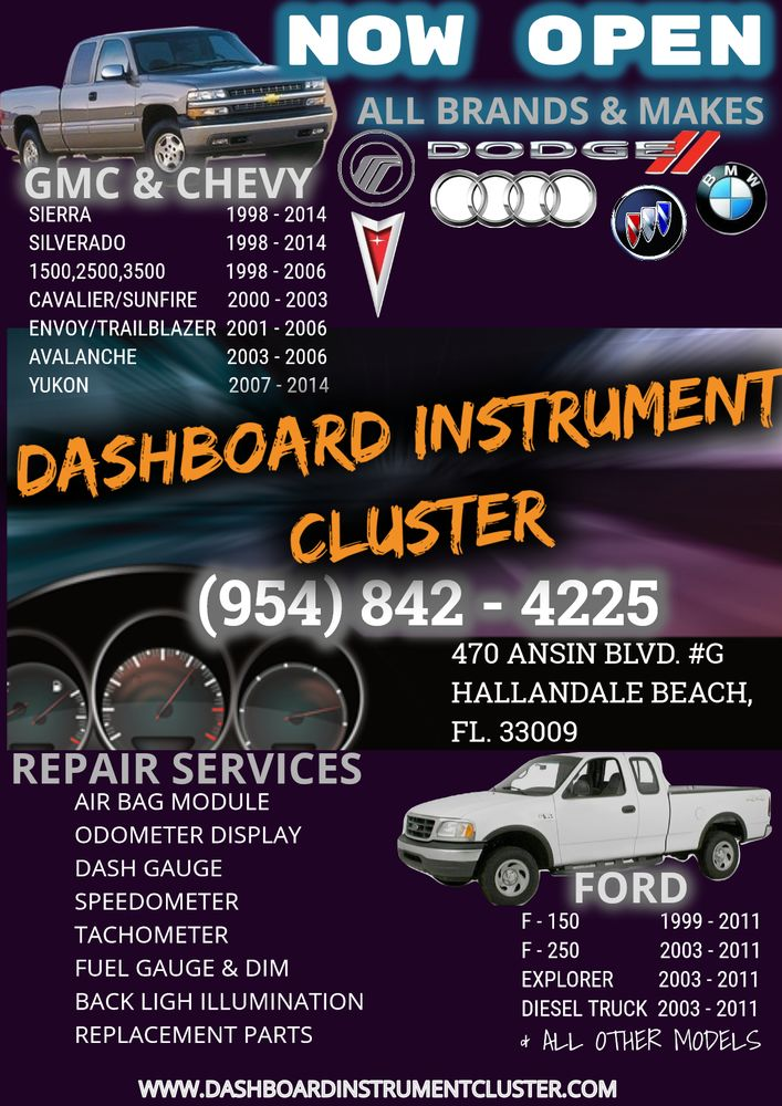 2004 f150 instrument cluster problems