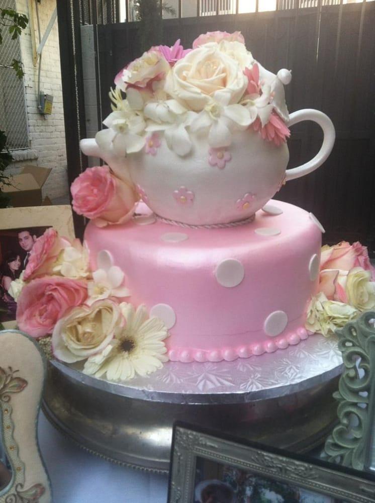 Auto Service Near Me >> Bridal shower cake (kievski cake on the inside) - Yelp