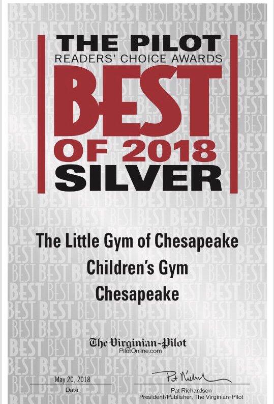 The Little Gym of Chesapeake: 237 Hanbury Rd E, Chesapeake, VA