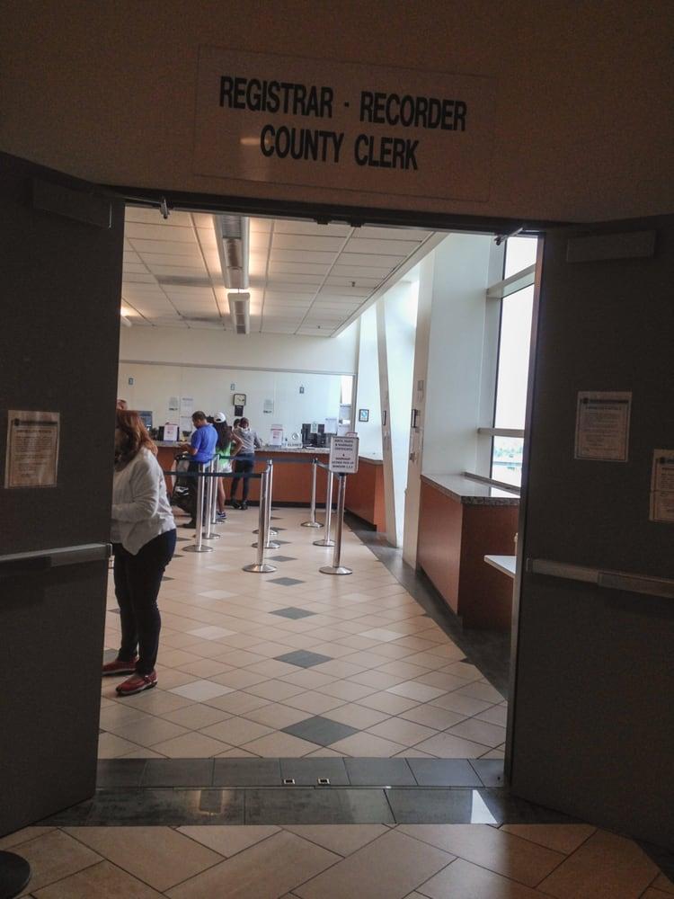 Los Angeles County Registrar Recordercounty Clerk 12 Reviews