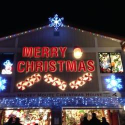 photo of mickey mouse christmas house san rafael ca united states - Mickey Mouse Christmas House Decorations