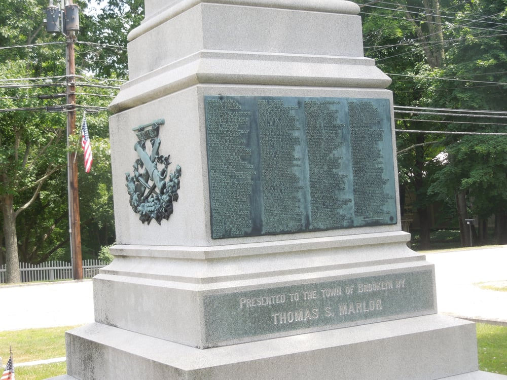 Brooklyn Soldiers and Sailors Monument: 9 Canterbury Rd, Brooklyn, CT