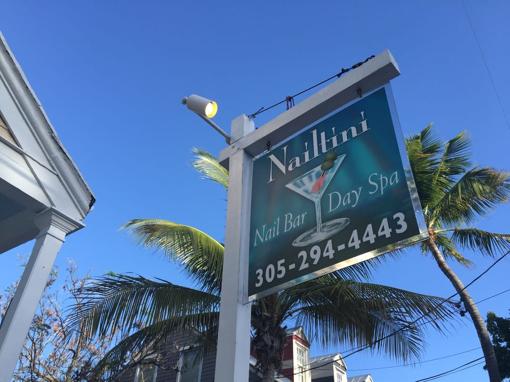 Nailtini Nail Bar & Day Spa: 817 Duval St, Key West, FL