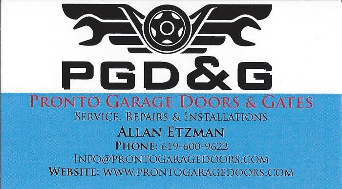 Pronto Garage Doors & Gates: San Diego, CA