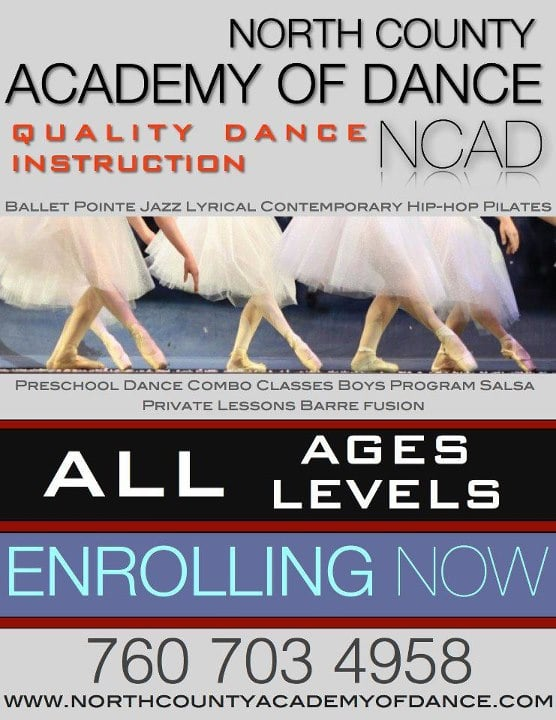 North County Academy of Dance: 5256 S Mission Rd, Bonsall, CA