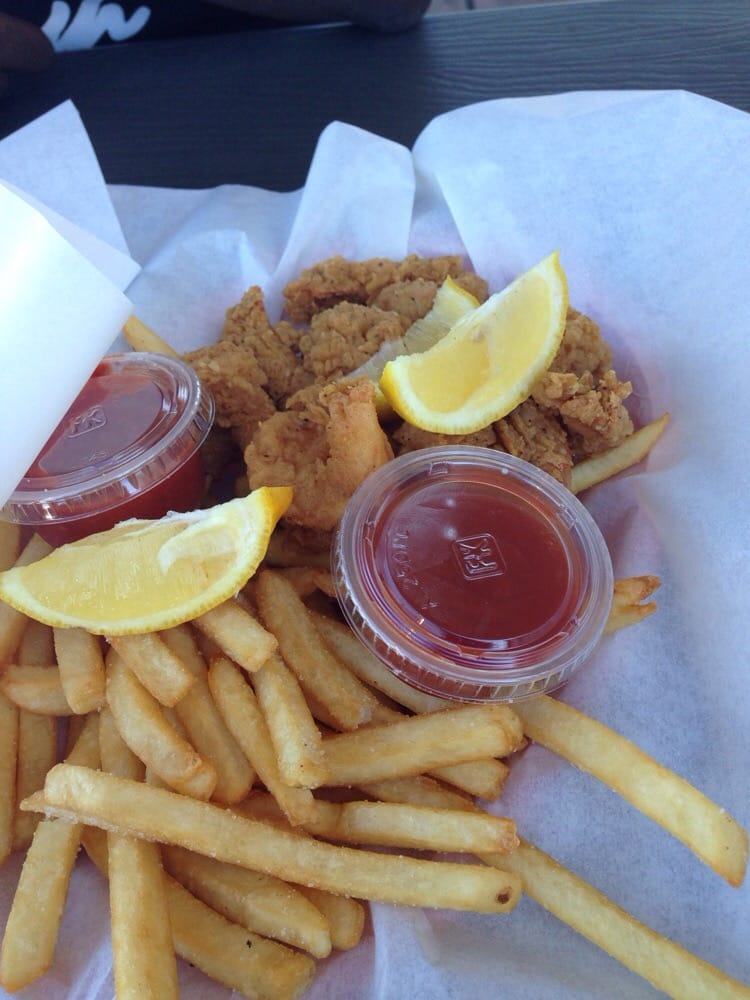 Shrimp and chips - Yelp