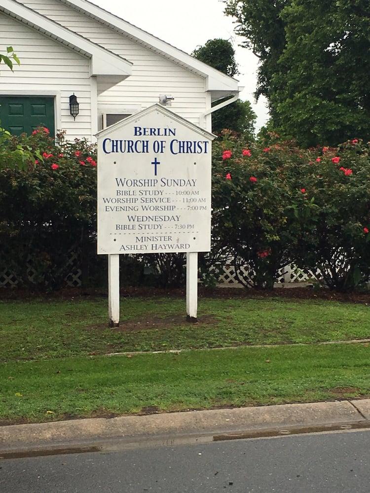 Berlin Church of Christ: 99 Graham Ave, Berlin, MD
