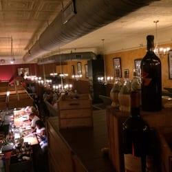 Photo Of Strada Italiano Asheville Nc United States 2nd Floor Seating Area