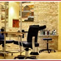 Friseur locke glatze