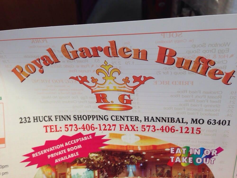 Royal Garden Buffet: 232 Huck Finn Shopping Ctr, Hannibal, MO