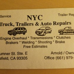 Nyc Trucks Trailers Auto Repairs 10 Photos Trailer Repair
