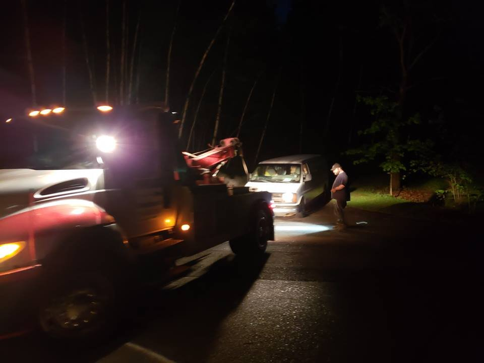 Towing business in Ashland, WI