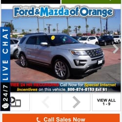 ford ca used of for orange and vehicles sale mazda search in