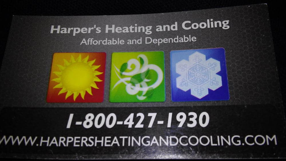 Harper's Heating and Cooling: 2635 Old Decaturville Rd, Parsons, TN
