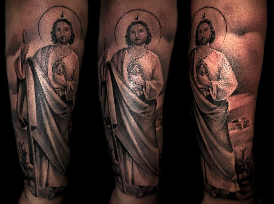 San Judas Tattoo: San Judas, Tattoo, Saint Jude
