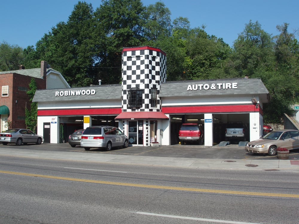 Robinwood Automotive & Tire: 803 South Florissant Rd, Ferguson, MO