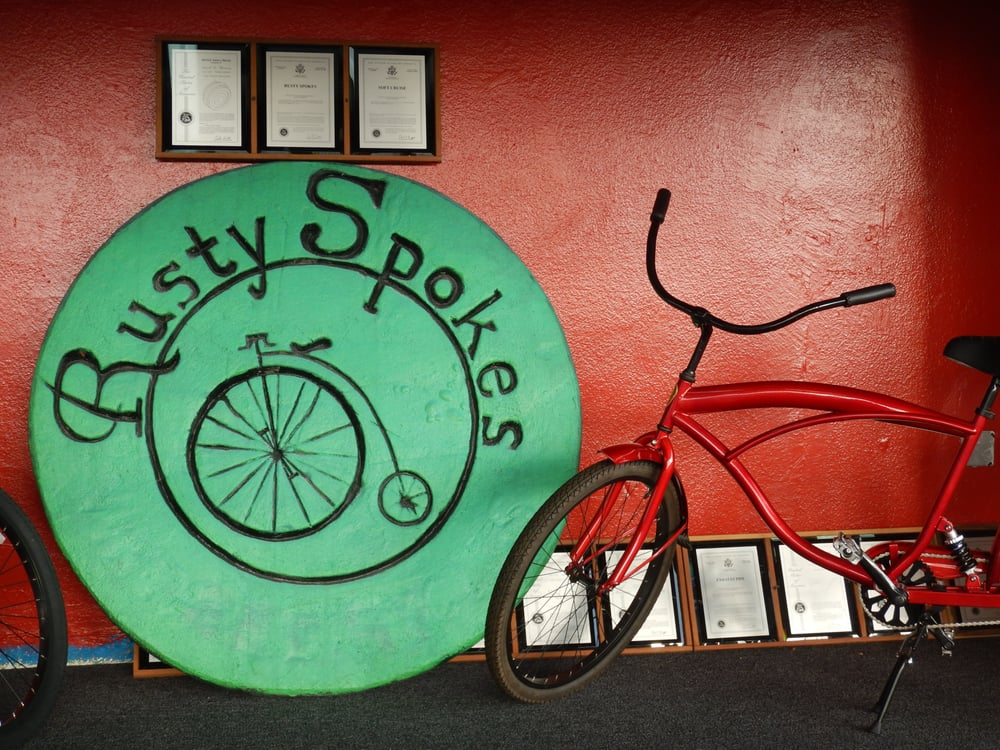 Rusty Spokes Vintage Bicycles 95