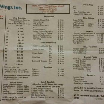 Hot Wings Restaurant Portsmouth Va