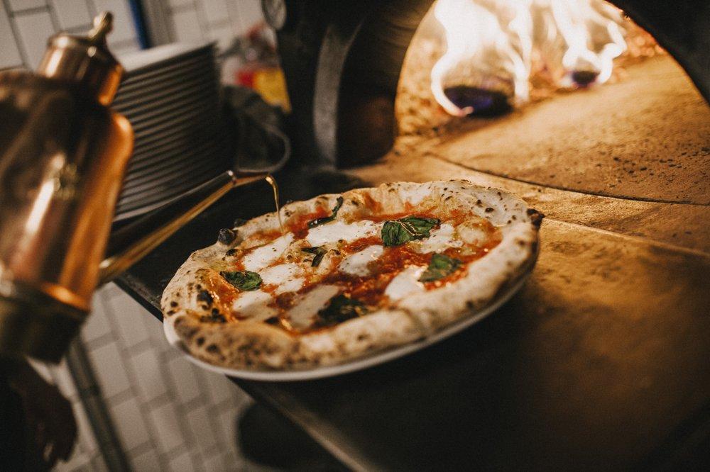 Fireflour Pizza + Coffee Bar: 111 N 5th St, Bismarck, ND