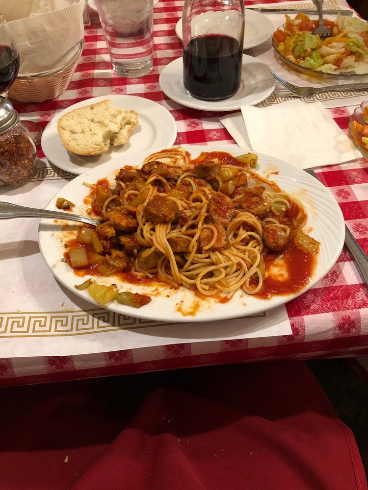 Minard's Spaghetti Inn: 813 E Pike St, Clarksburg, WV
