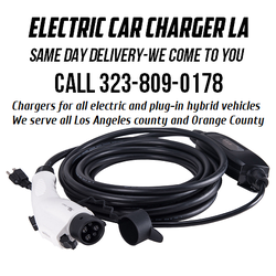 Electric Car Charger Installation Los Angeles