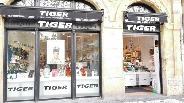 Resultado de imagen de tienda tiger donostia