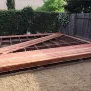 Photo Of Berco Redwood Roseville Ca United States Deck Progress Shot