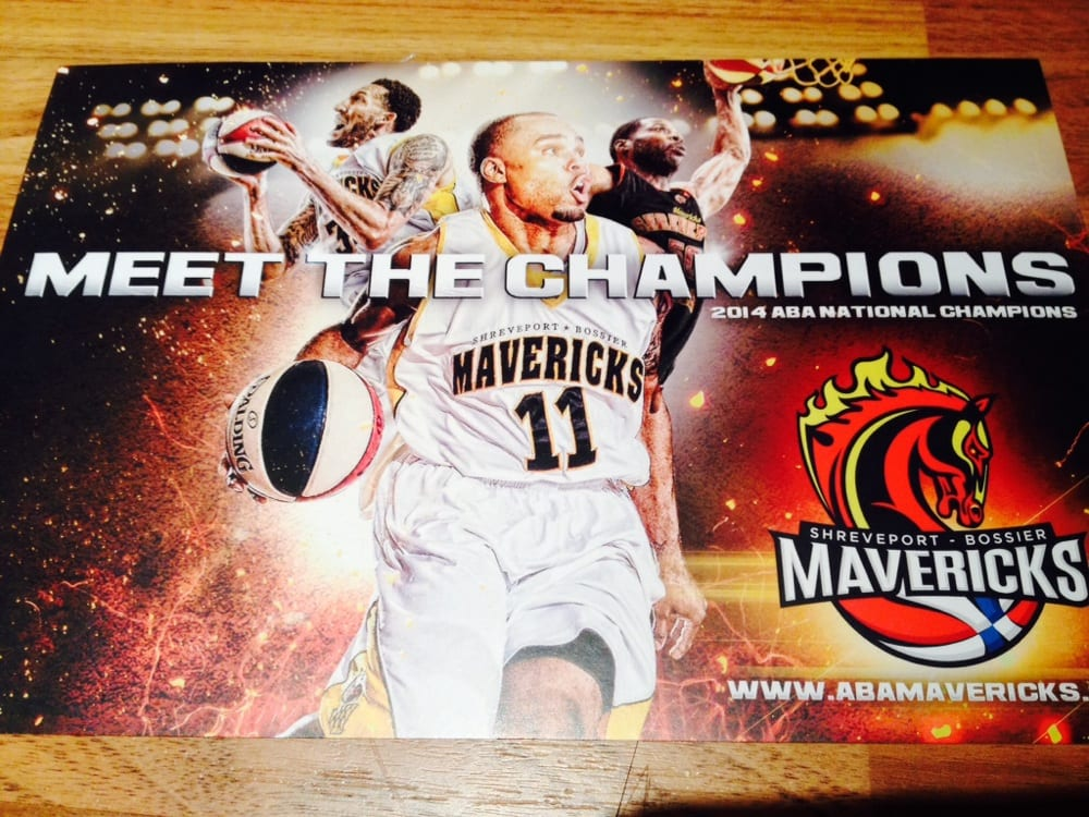 The Shreveport-Bossier Mavericks: 3701 Hudson Ave, Shreveport, LA