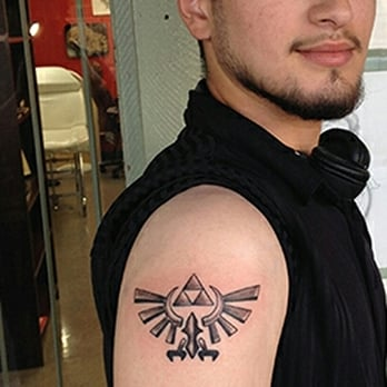 Legend Of Zelda Triforce Tattoo Yelp