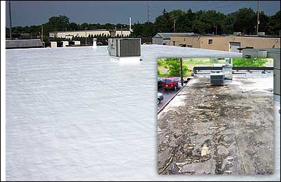 Flat Roof Specialist and Tuckpointing: 151 N Franklin St, Chicago, IL