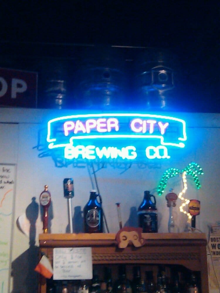 paper city brewery Two breweries have suspended production, two more under threat one of the bay  state's oldest breweries, holyoke's paper city brewing, has ceased production.