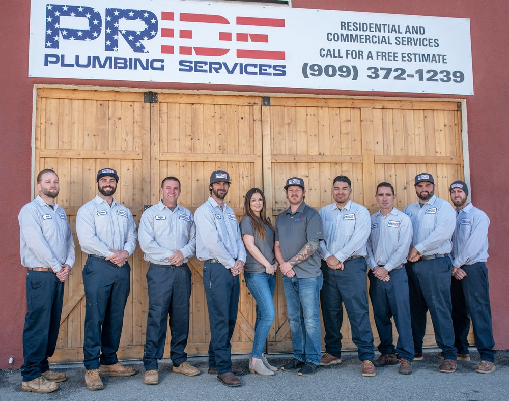Pride Plumbing Services: Yucaipa, CA