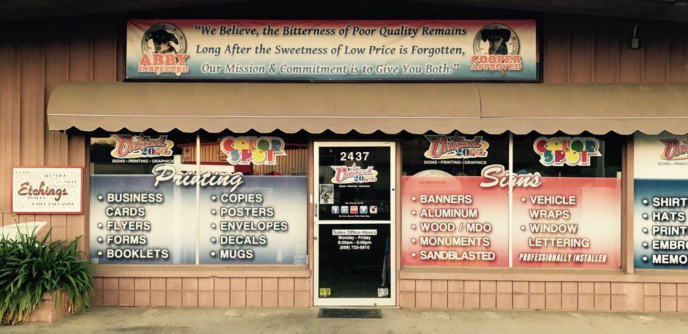 United Signs International: 2437 E Main St, Visalia, CA