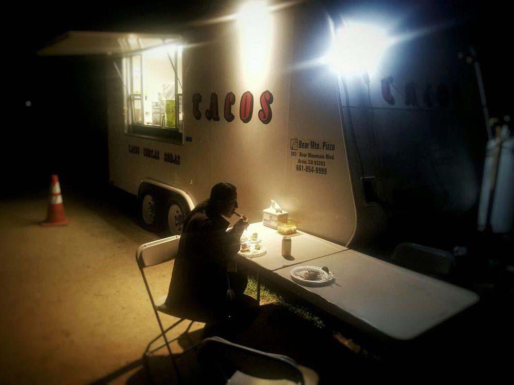 Bear Mt Pizza Taco Truck: 223 Comanche Dr, Arvin, CA