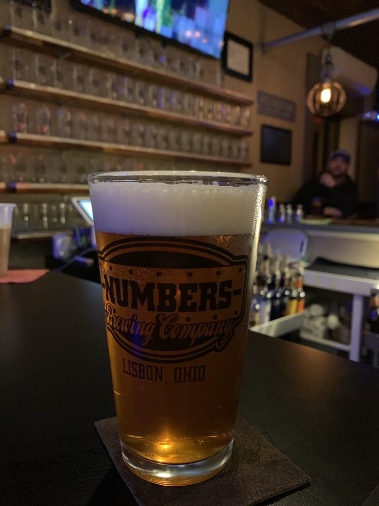 Numbers Brewing Company: 127 N Beaver St, Lisbon, OH