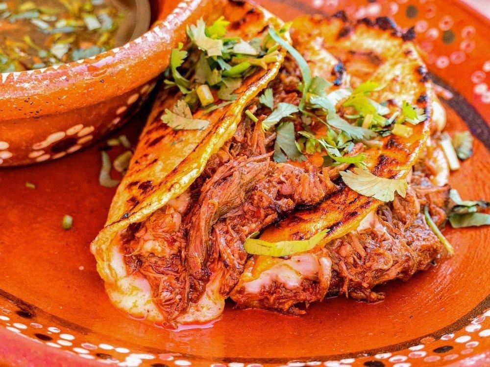 Food from Birrieria Little Tijuana