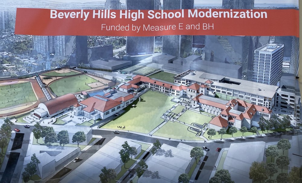 Beverly Hills High School: 241 S Moreno Dr, Beverly Hills, CA