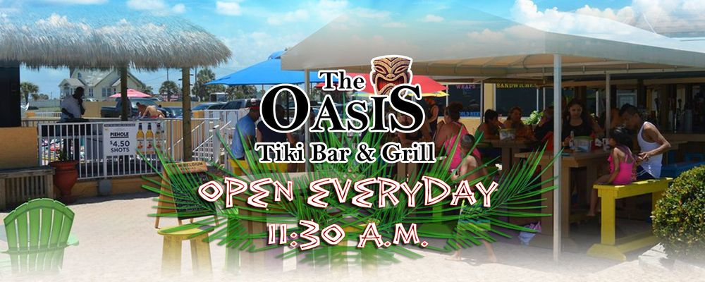 Oasis Tiki Bar Daytona Beach Fl