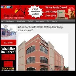your extra attic self storage 2909 log cabin dr se. Black Bedroom Furniture Sets. Home Design Ideas