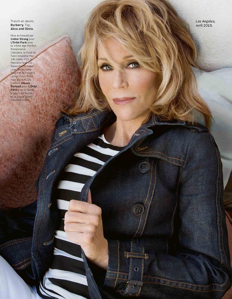 Jane Fonda For Grazia Magazine Styled By Sharon Williams Yelp