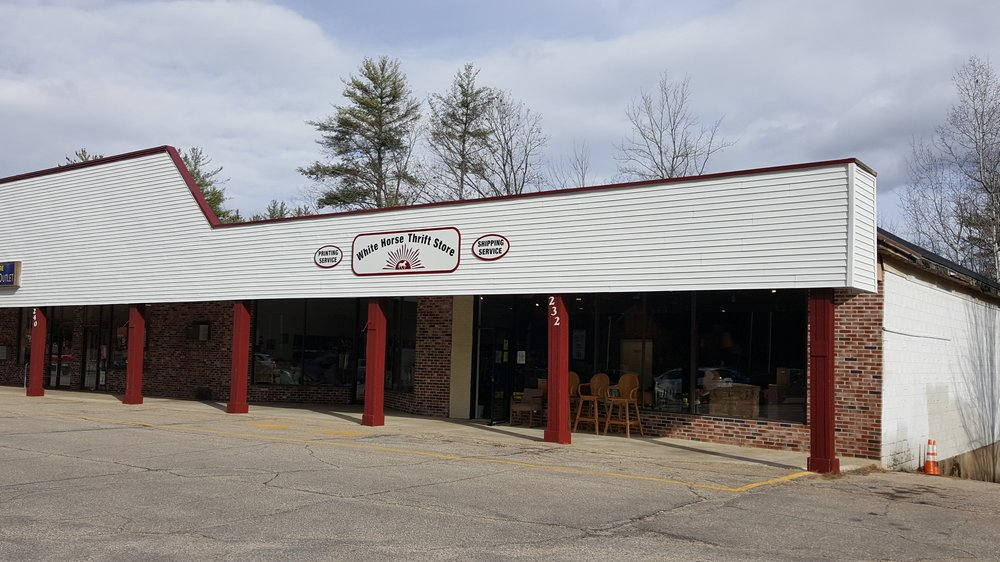 White Horse Thrift Store: 232 Nh Route 16B, Center Ossipee, NH