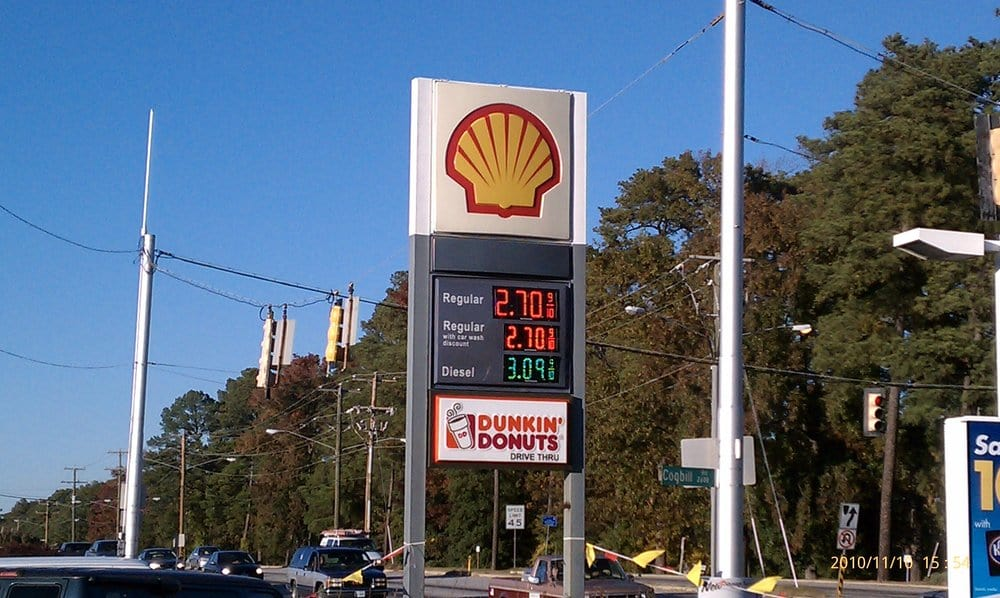 Shell Gas: 5400 Jefferson Davis Hwy, Richmond, VA