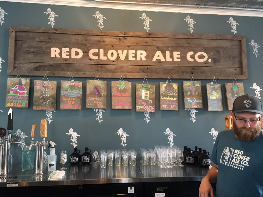 Red Clover Ale: 43 Center St, Brandon, VT