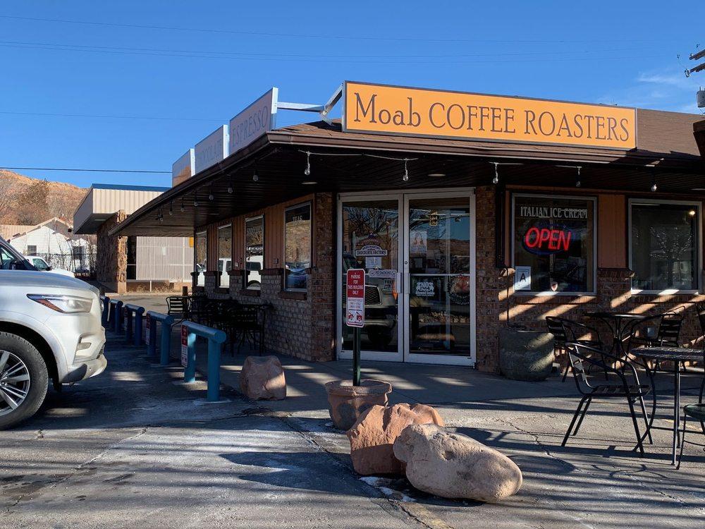 Moab Coffee Roasters: 90 N Main St, Moab, UT