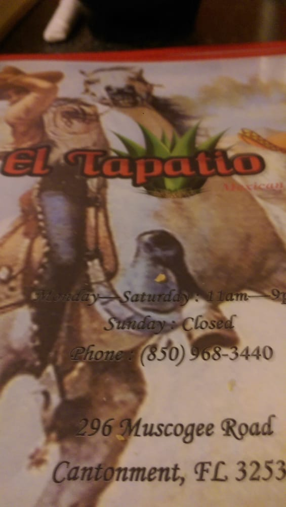 El Tapatio: 296 Muskogee Rd, Cantonment, FL